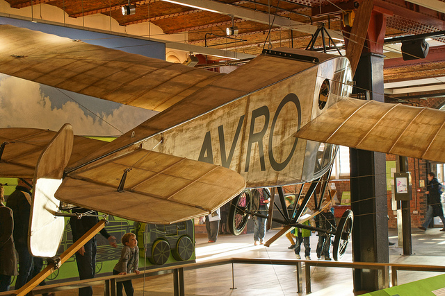 Avro aircraft at the Museum of Science and Industry