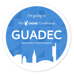 Yay going to GUADEC!